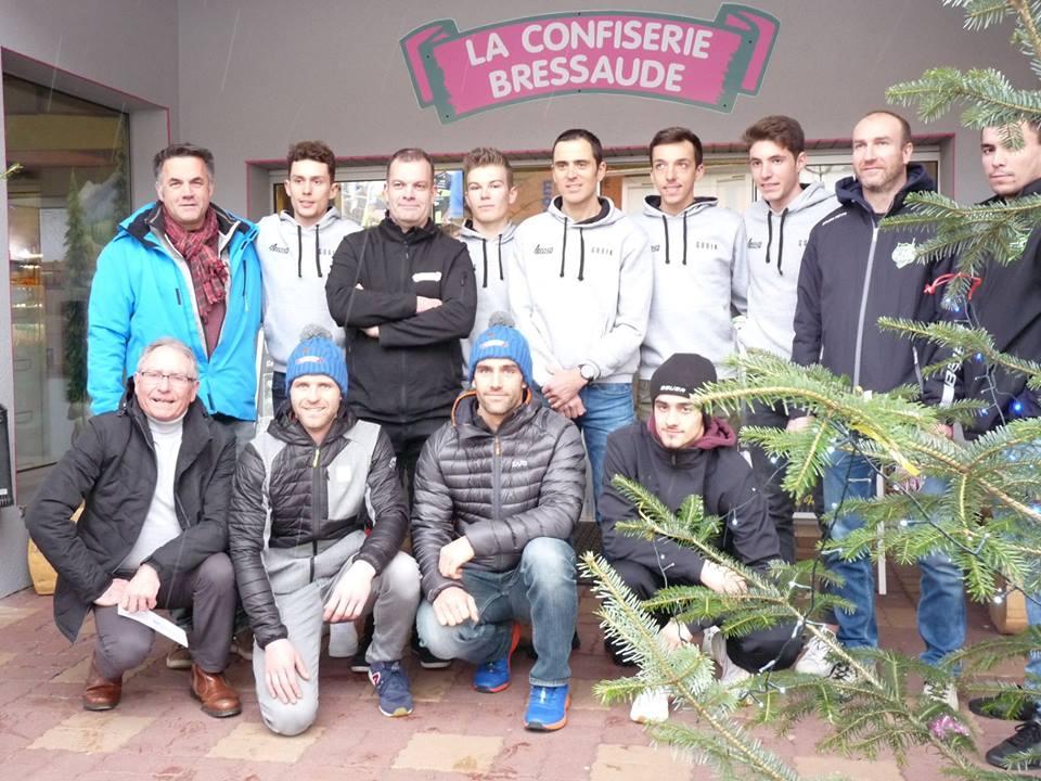 VTT – Julien Absalon a présenté son team à La Bresse
