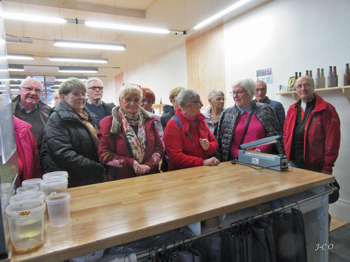 Gérardmer – Les adhérent de la PAJA découvrent la fabrication du popcorn