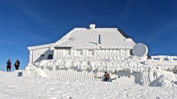 Au sommet du Hohneck © René Claudel.