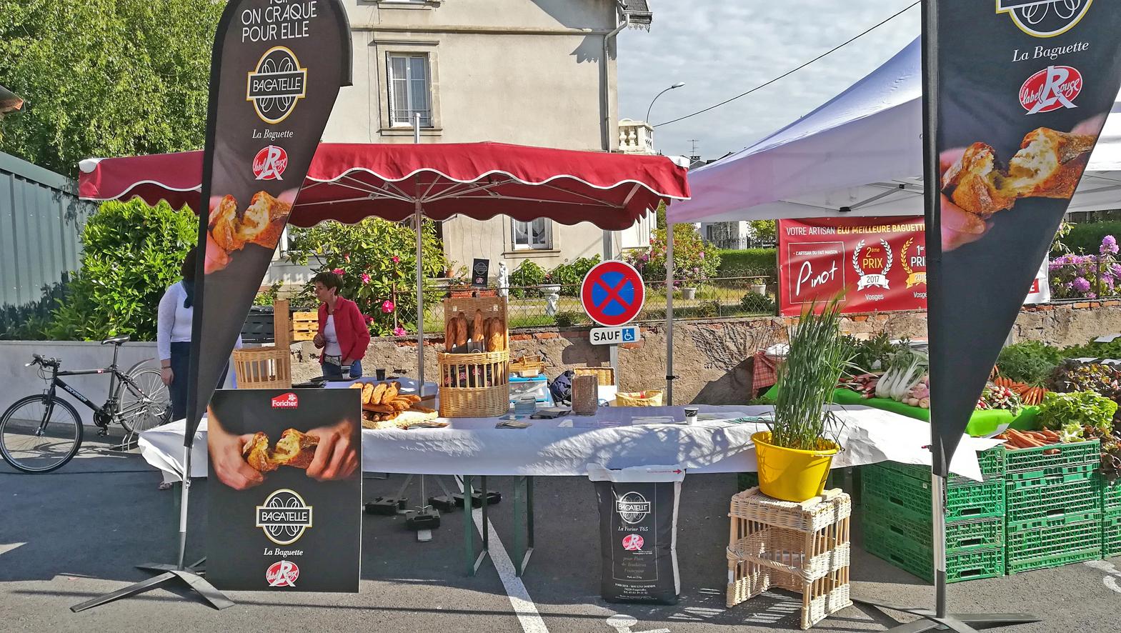"""Remiremont – Le label rouge décerné à la baguette """"Bagatelle"""" de la boulangerie Pinot"""