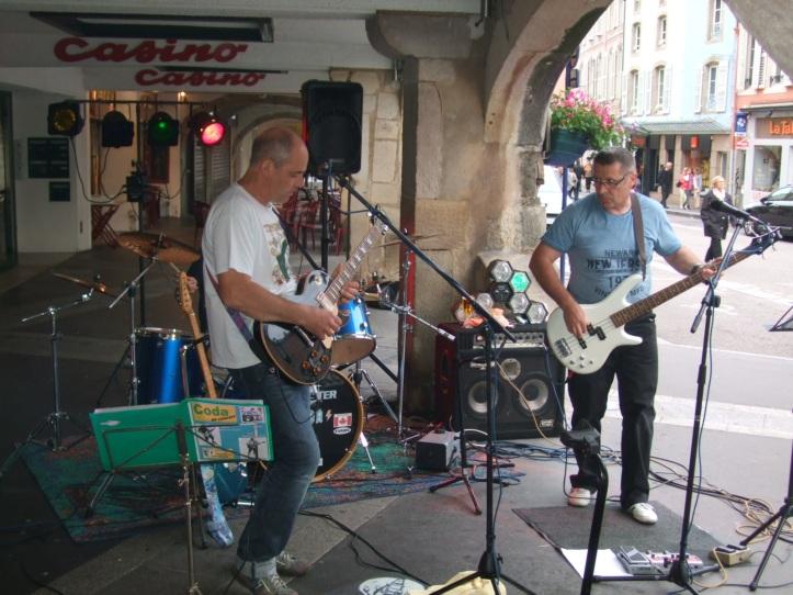 ambiance rock années 60-80 avec Coda au bar Le Sporting