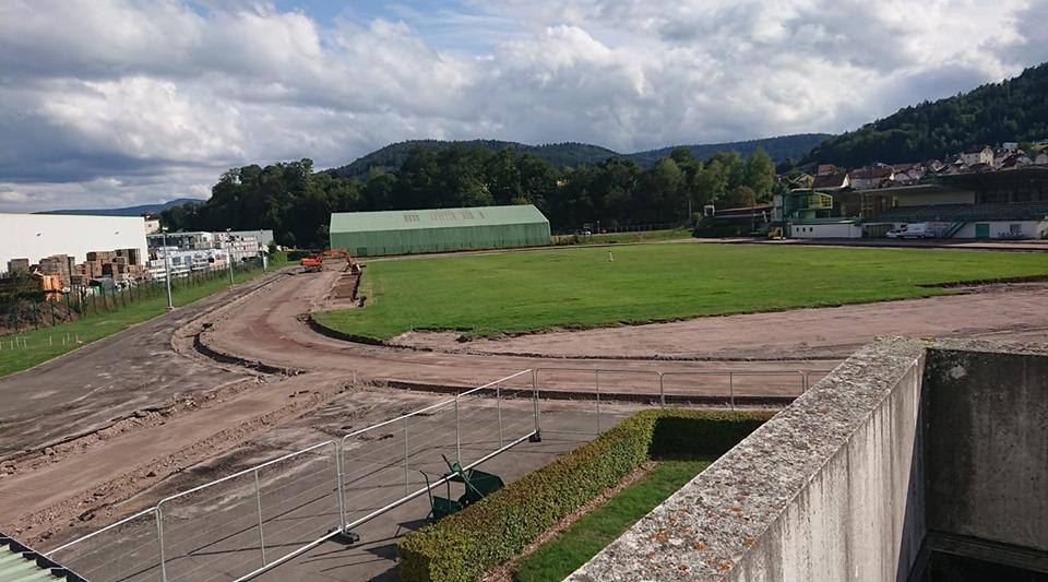 Remiremont – Le stade de Béchamp s'offre une cure de rajeunissement