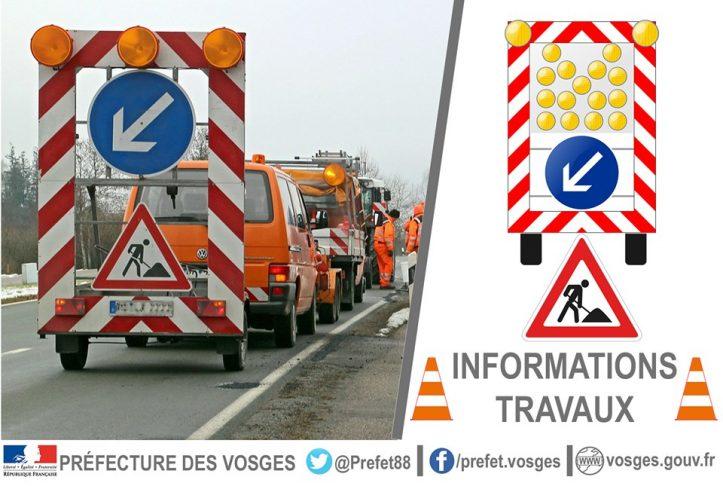 RN66 – Fermeture de la bretelle de sortie de Saint-Étienne-lès-Remiremont mercredi 23 septembre 2020