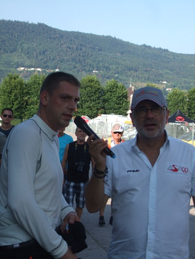 L'interview de la victoire pour Matthieu Hocquaux