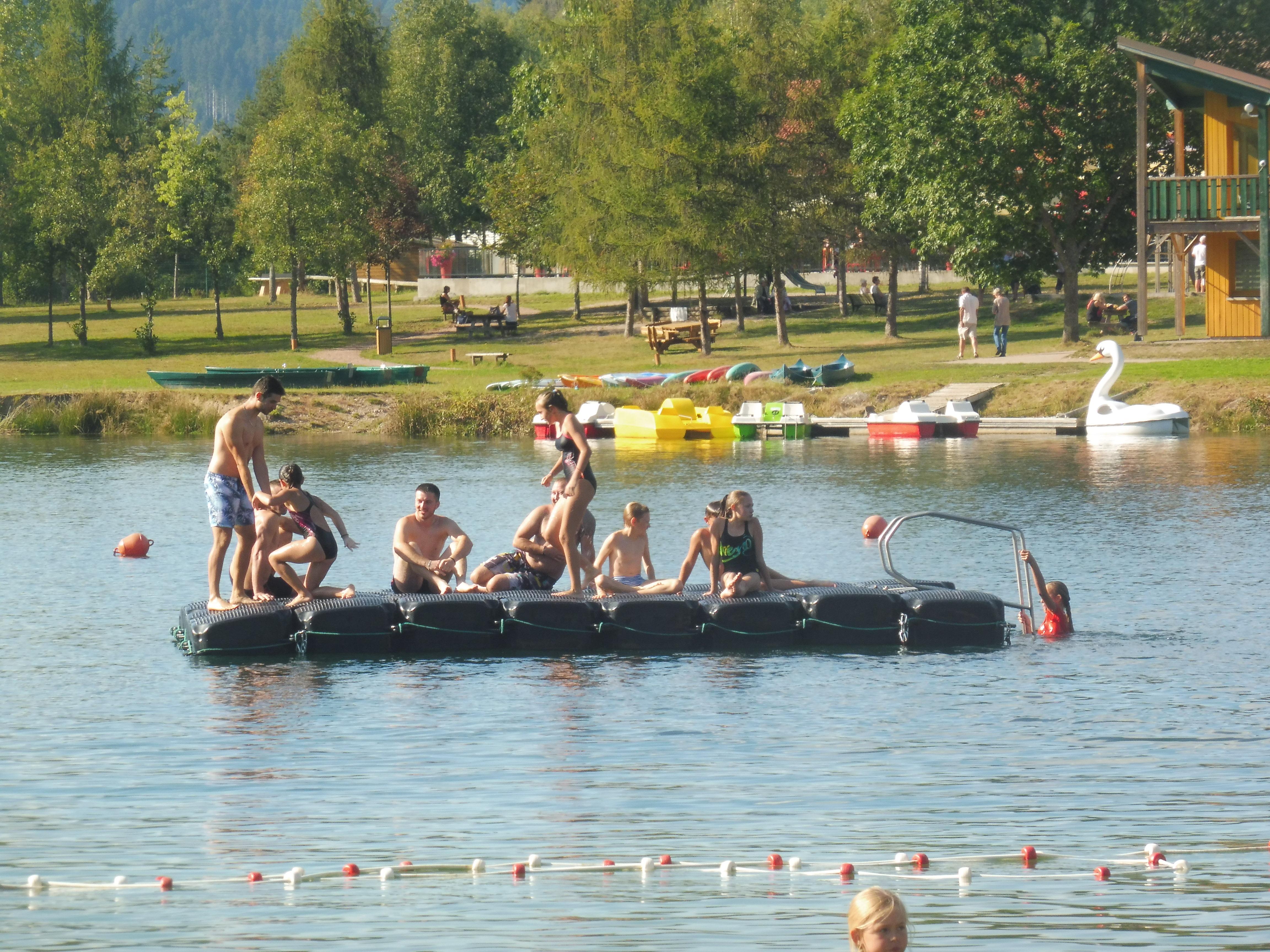 Saulxures-sur-Moselotte – L'été joue les prolongations au lac de la Moselotte