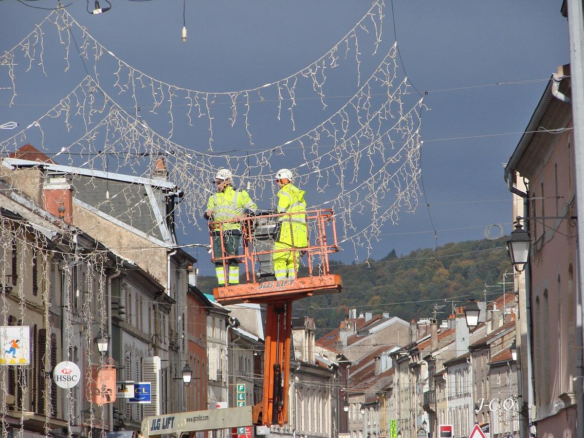 Remiremont – Les illuminations de fin d'année seront posées à partir du 5 octobre