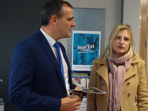 Visite Valérie Debord (2)