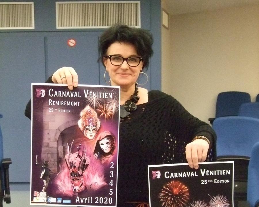 Remiremont – Agnès Leclerc, lauréate des deux affiches officielles du Carnaval vénitien 2020