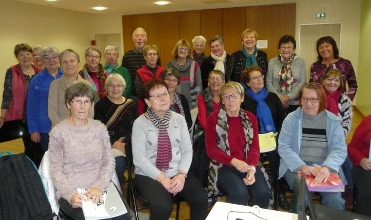 JCB N°666 Les choristes adultes étaient nombreux à la répétition de mardi 26 Novembre
