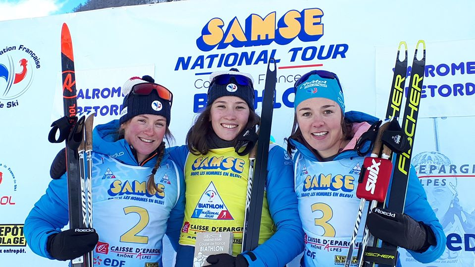 Biathlon – Paula Botet double la mise en coupe de France