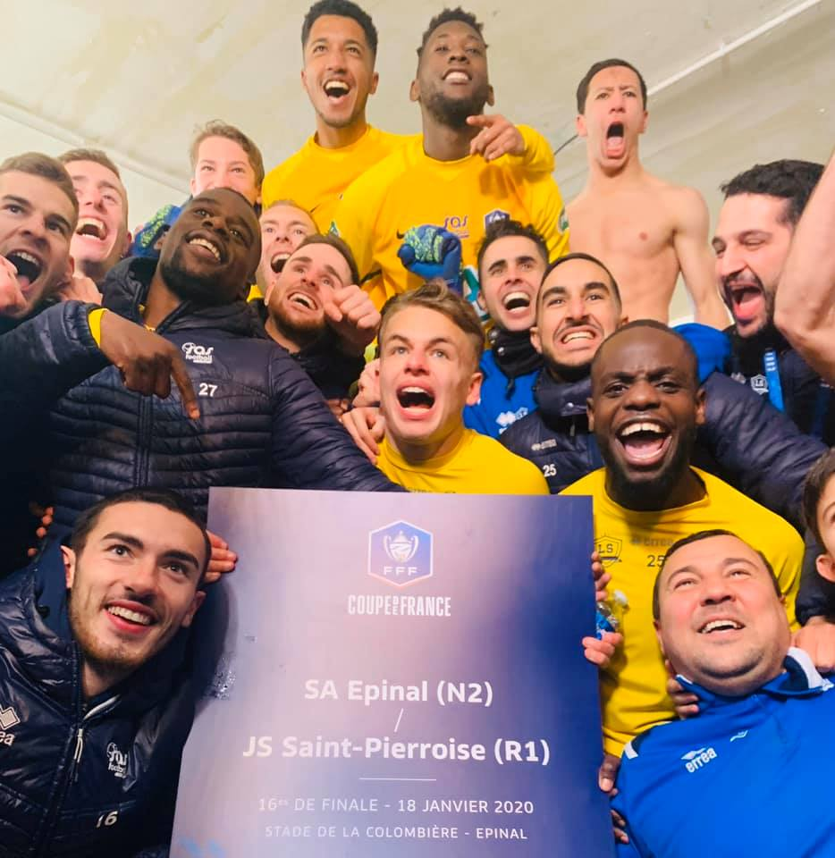 Football – Le SAS Epinal en huitièmes de finale de la coupe de France !