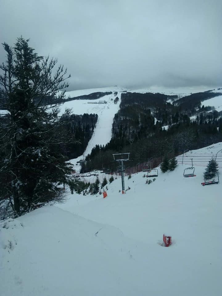 La Bresse – Le retour de la neige sur les sommets