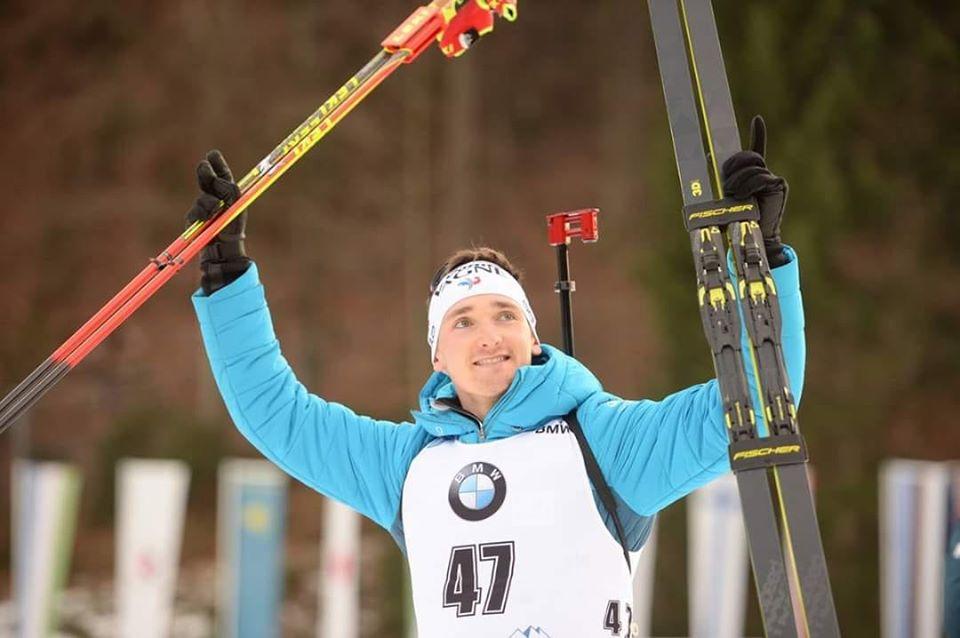 Biathlon – Le premier podium de Fabien Claude en coupe du Monde