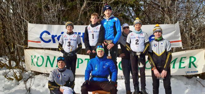 Ski de fond – La Bresse (hommes) et Vagney-Rochesson (dames) champions des Vosges de relais