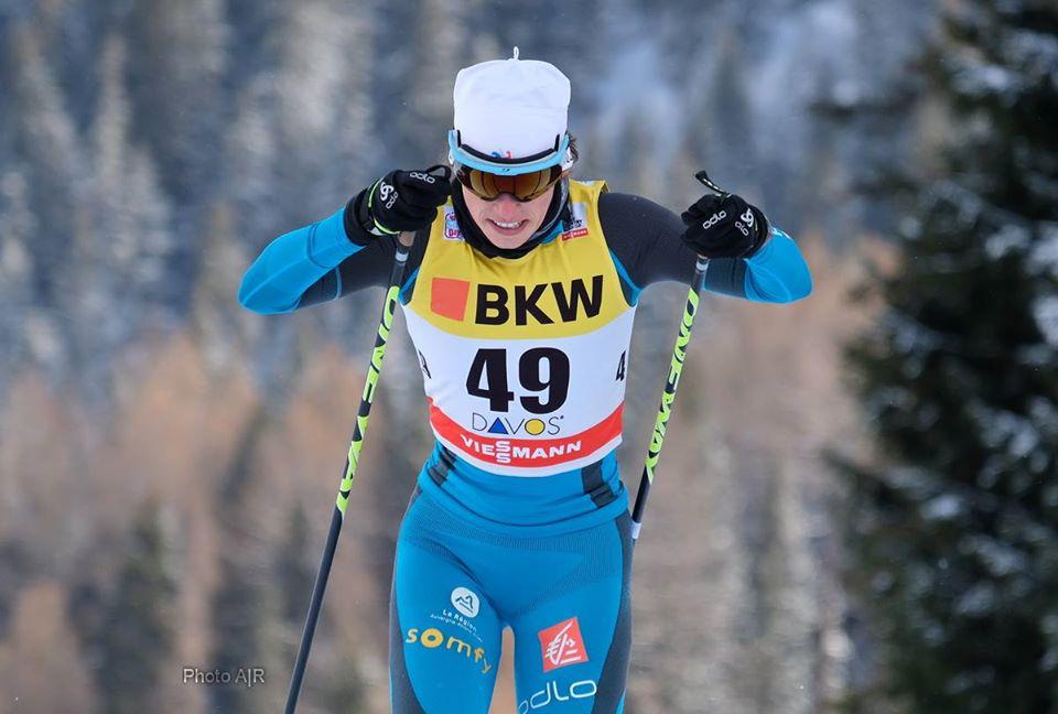 Ski de fond – Delphine Claudel dans le top 15 pour la cinquième fois !