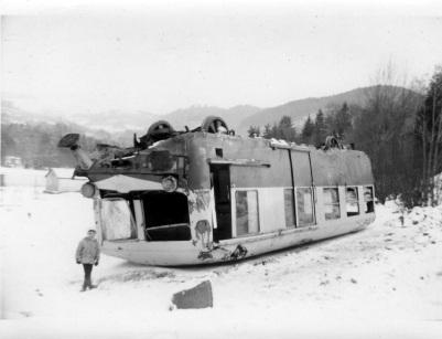 deraillement de train de voyageur en 1969