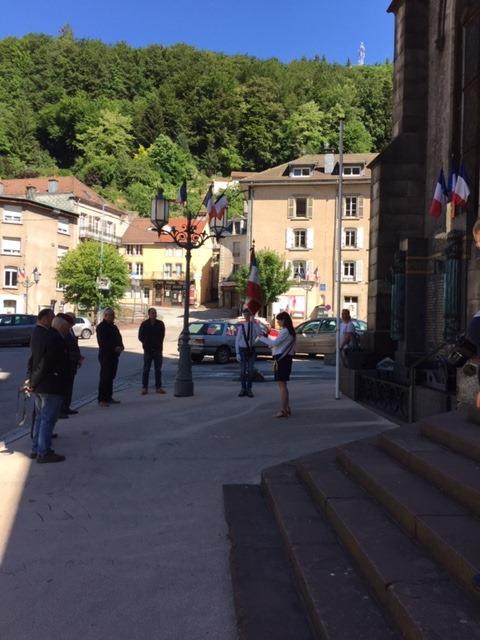 Plombières-les-Bains – La cérémonie d'hommage national de la Résistance en comité restreint