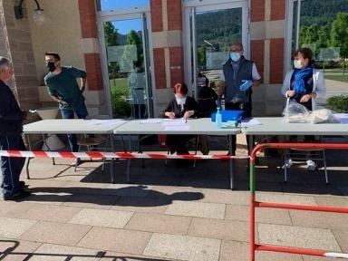 Saint-Etienne-lès-Remiremont– Deuxième distribution de masques aux Stéphanois