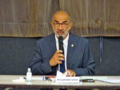 Michel Demange, candidat à la présidence.