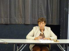 Catherine Louis, le maire de Dommartin-lès-Remiremont, est élue première vice-présidente à l'urbanisme, aux bâtiments publics et aux travaux.