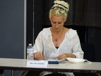Anne Haxaire, conseillère municipale de Plombières-les-Bains, est élue septième vice-président à la ville, au logement et au cadre de vie.