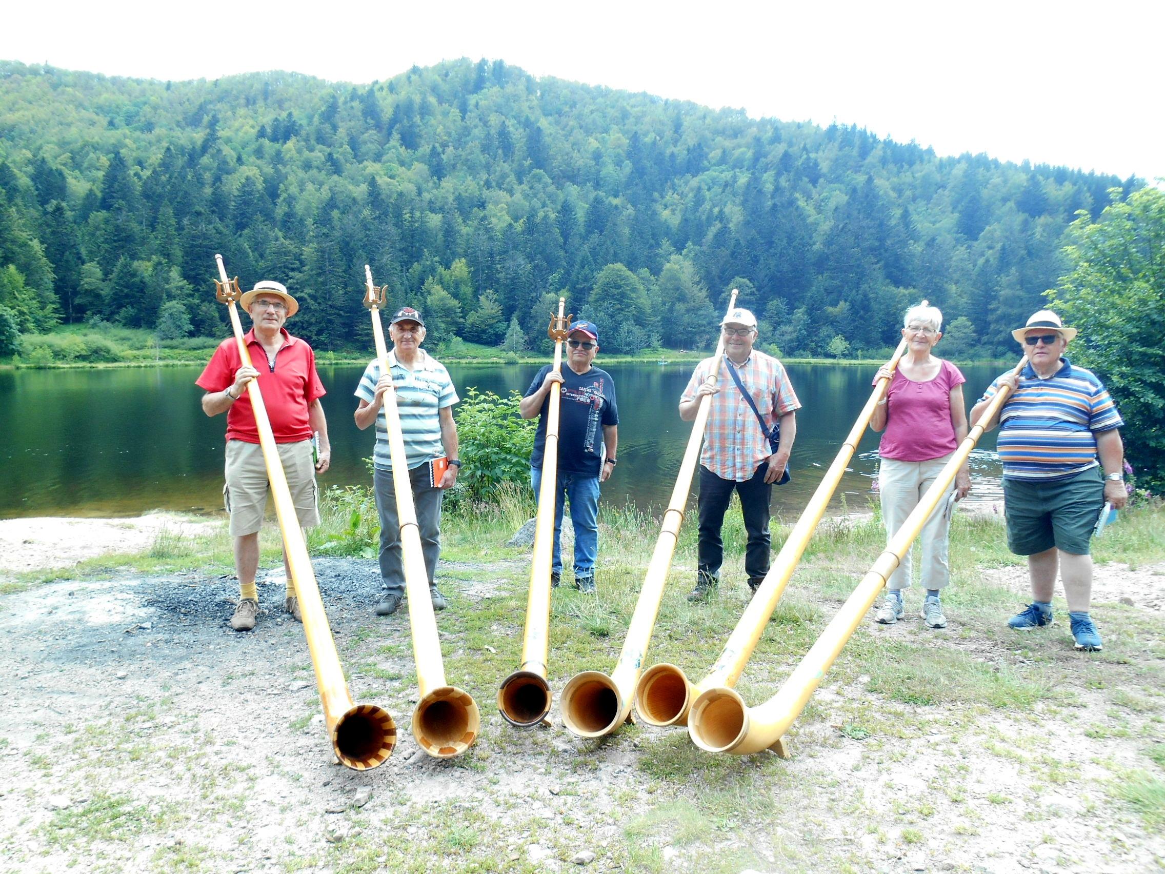La Bresse – Les cors des Alpes répètent à Blanchemer