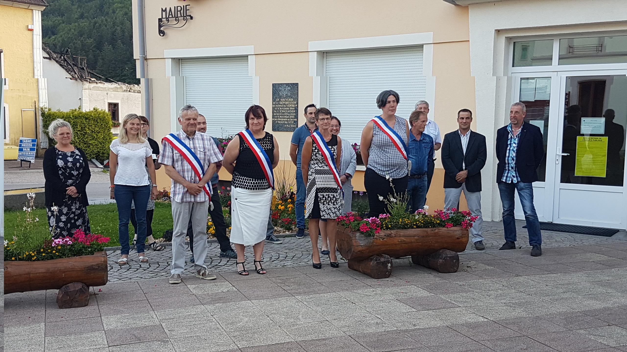 Ventron – Brigitte Vanson élue maire avec trois adjoints