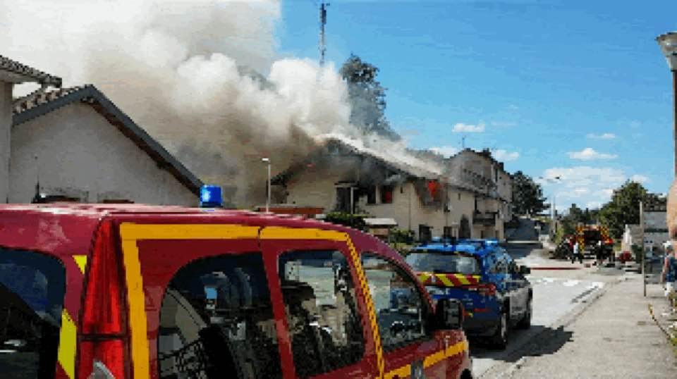 Arches – Deux personnes relogées après l'incendie d'une maison
