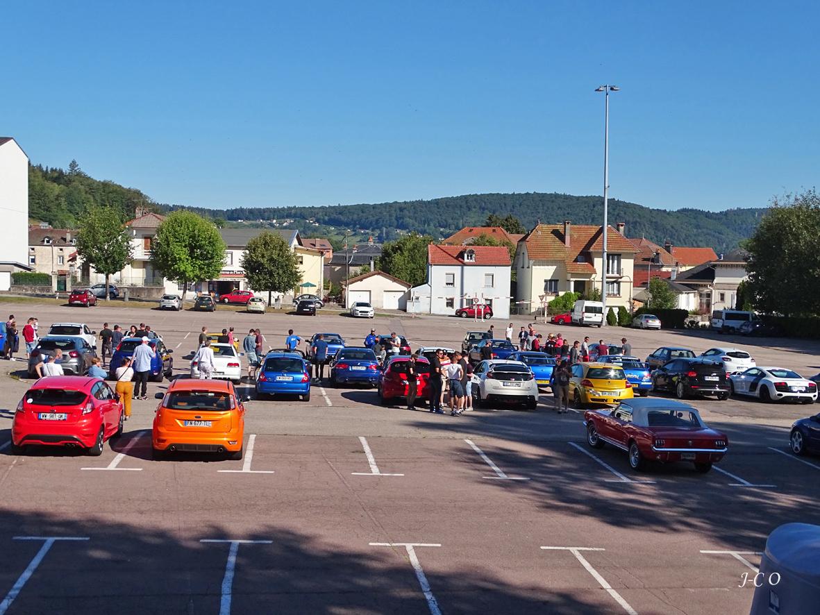 Remiremont – Trente voitures au départ d'une balade sportive dans les Vosges