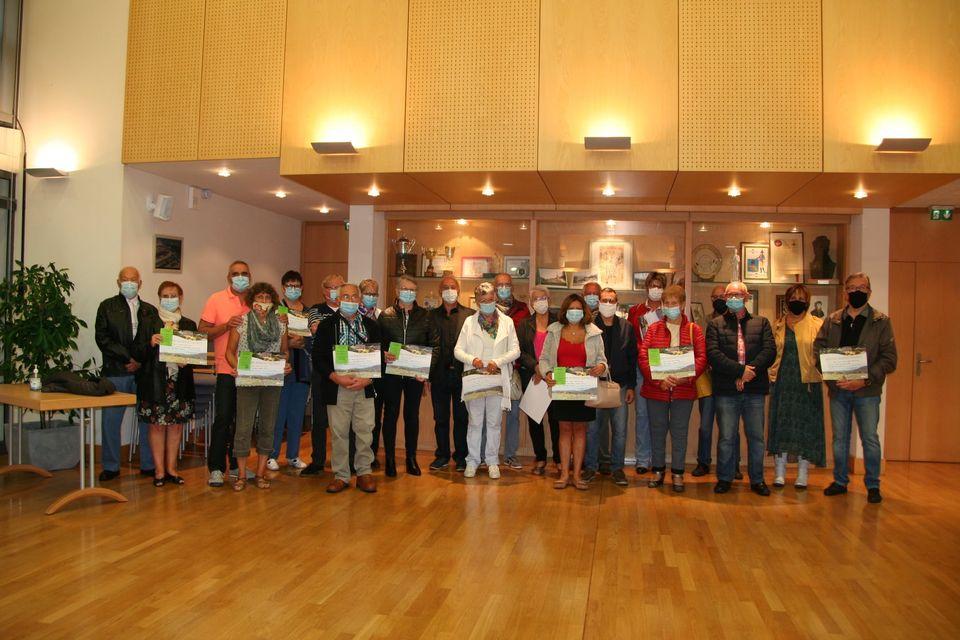 Saint-Nabord – La remise des prix du concours des maisons fleuries