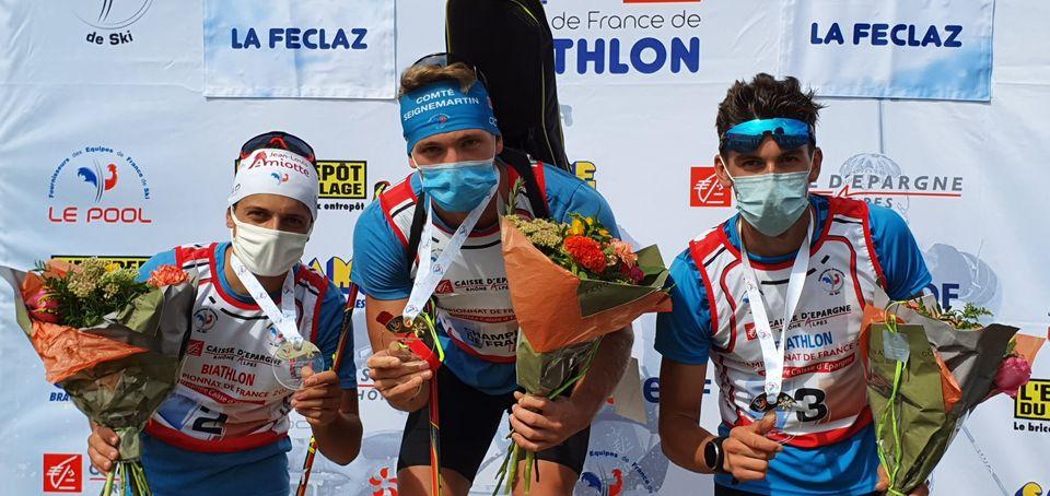 Biathlon – Les Vosgiens Emilien Claude et Paula Botet champions de France