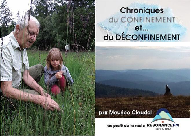 """Cornimont – Maurice Claudel publie : """"Chroniques du confinement"""""""