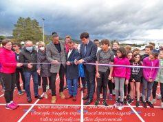 Inauguration la piste athlétique02