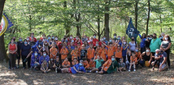JCB N°601 Photo de famille des Scouts et Guides de Remiremont
