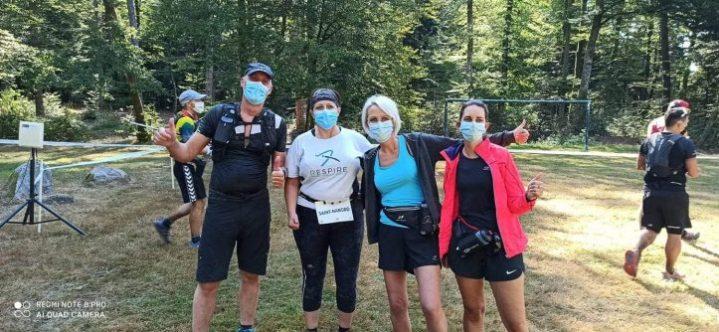Les élus navoiriauds en relais au cours de la course des 30 km