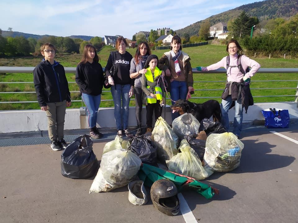 Saint-Etienne-lès-Remiremont – L'association Art'nimal collecte soixante kilos de déchets