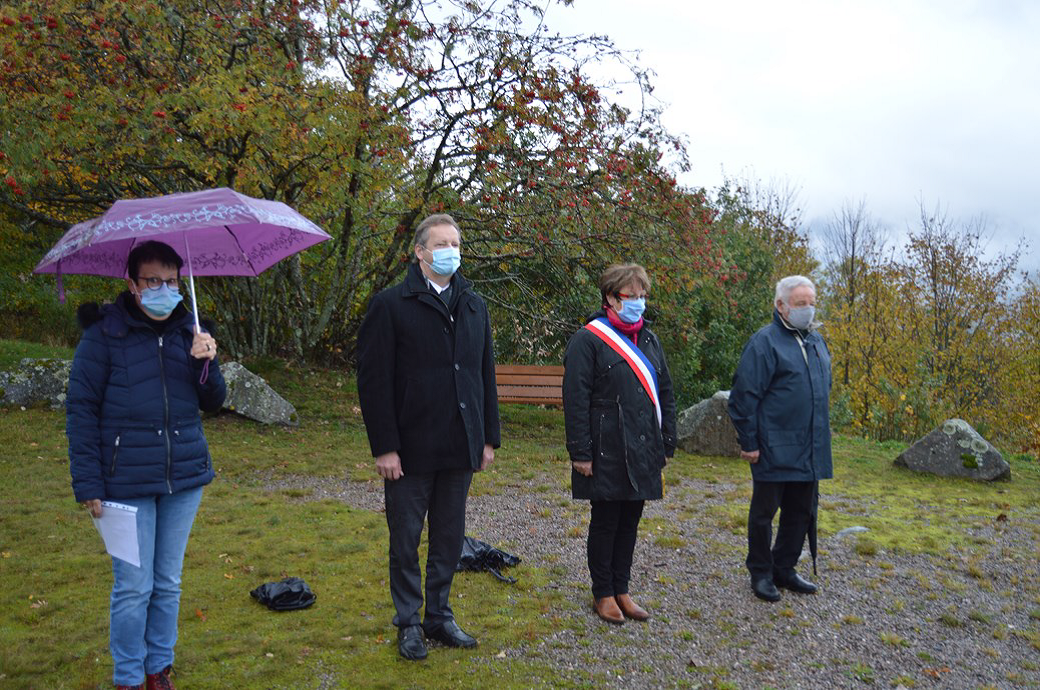 Cornimont – 76ème anniversaire de la Libération au Haut-du-Faing