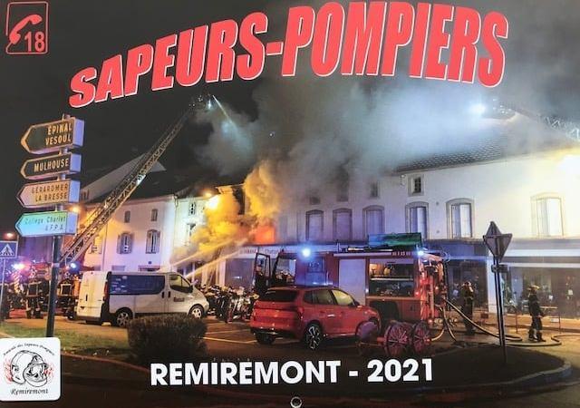 Remiremont – Les pompiers proposent leur calendrier en ligne