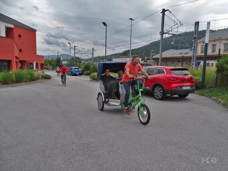 Vélotaxi Ehpad 15